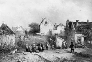 Сэмюэл Вервир. Деревня в Схевенингене