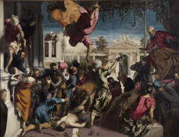 Якопо (Робусти) Тинторетто. Чудо святого Марка