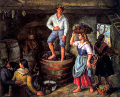 Хуан Луис Лопес Гарсиа. Производство вина