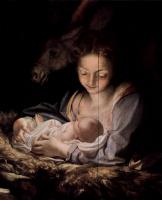 Антонио Корреджо. Мария с младенцем