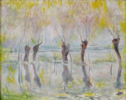 Клод Моне. Наводнение в Живерни