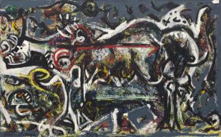 Jackson Pollock. Wolf