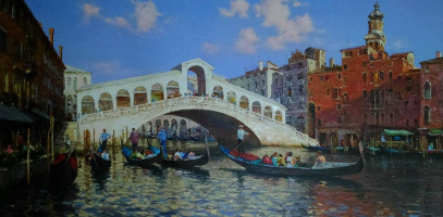 Maxim Sidorenko. The Rialto Bridge