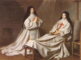 Филипп де Шампень. Две молящиеся