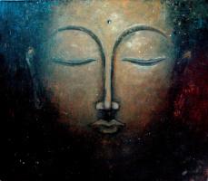 """Eugene Alexandrovich Urvantsev. """"Buddha"""""""