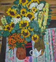 Daria Vladimirovna Timoshkina. Rustic bouquet.