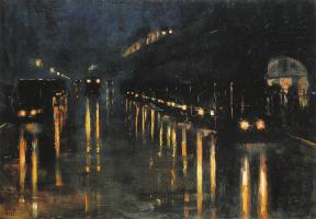Лессер Ури. Надземный вокзал Бюловштрассе