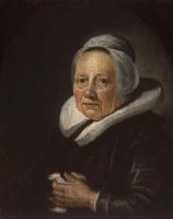 Герард Доу. Портрет матери художника