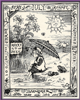 Томас Наст. Первое место. Рождественская открытка