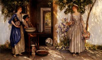 Стивен Рейд. Девушки в саду