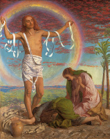 Уильям Холман Хант. Иисус и две Марии