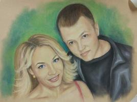 Ольга Александровна Суслова. Portraits to order