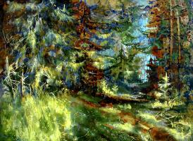 Evgeny Anatoleviz Babushkin. Forest flare