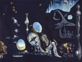 Salvador Dali. Melancholic idyll of the atom and uranium