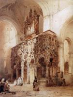 Йоханнес Босбум. Интерьер храма