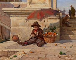 Антонио Паолетти. Продавец апельсинов