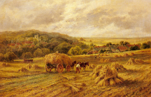 Генри Хиллиер Паркер. Время сбора урожая