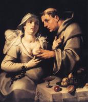 Корнелис ван Харлем. Монах и монахиня
