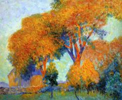 Констанс Стюарт Ларраб. Осенний пейзаж