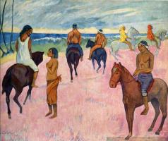 Всадники на пляже 2