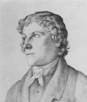 Julius Schnorr von Karolsfeld. Portrait Of Johann Christoph Erhard