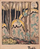 Туве Янссон. Хатифнатты, сказочные лесные существа