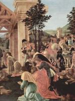 Сандро Боттичелли. Поклонение волхвов, деталь