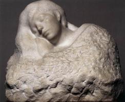 Auguste Rodin. Sleep