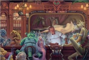 Джеймс Вархола. Ночь в баре