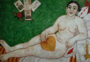 Михаил Федорович Ларионов. Еврейская Венера