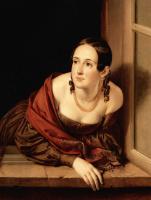 The woman in the window (Treasurer)
