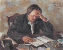 Иван Семенович Куликов. Портрет Е.Н. Чирикова. 1904