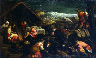 Francesco Bassano. Winter