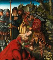 Лукас Кранах Старший. Мученичество святой Варвары