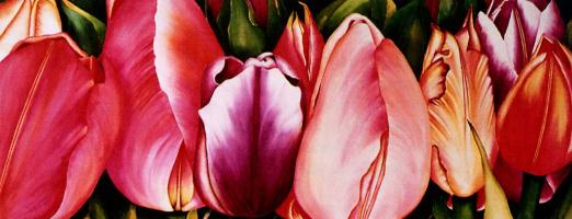 Кэрол Лессард. Весенние цветы