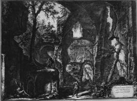 Джованни Баттиста Пиранези. Руины античных построек на Вилле Барберини близ Кастельгандоль
