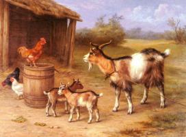 Эдгар Хант. Козы и куры