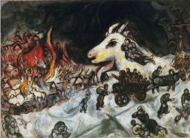 Марк Захарович Шагал. Война