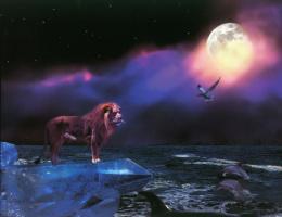 Барри Чал. Лев и полная луна