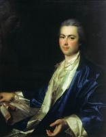 Дмитрий Григорьевич Левицкий. Портрет неизвестного из семьи Салтыковых