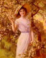 Emile Vernon. Cherry blossoms