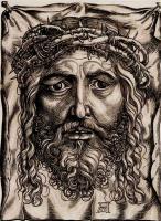Ханс Зебальд Бехам. Голова Христа в терновом венце