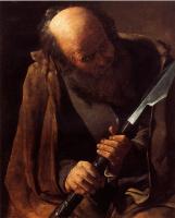 Жорж де Латур. Святой Фома