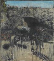 Фрэнсис Бэкон. Фигура в пейзаже