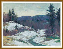 Бернард Кори. Снег в горах