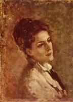 Николае Григореску. Портрет Александрины Филионеску
