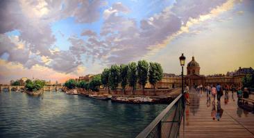 Robert Nuffson. The Pont Des Arts