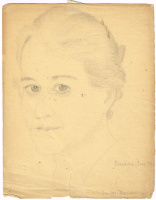 Unknown artist. Portrait of E. D.