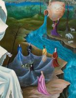 Leonora Carrington. The Temptation Of St. Anthony. Fragment II