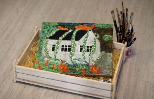 Galina Sergeevna Pak. House in the Cool